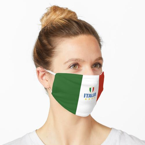 Italien - Italienische Trikolore Maske