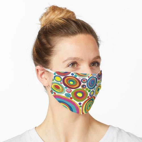 Kreise auf Kreisen Maske