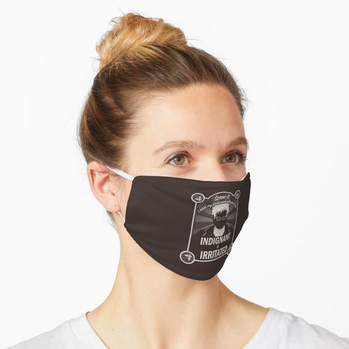 Schrauben Sie es. Maske