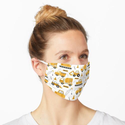 Bauwagen Maske