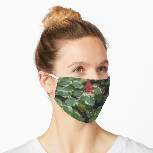 Peek-a-boo Gartenzwerg Maske