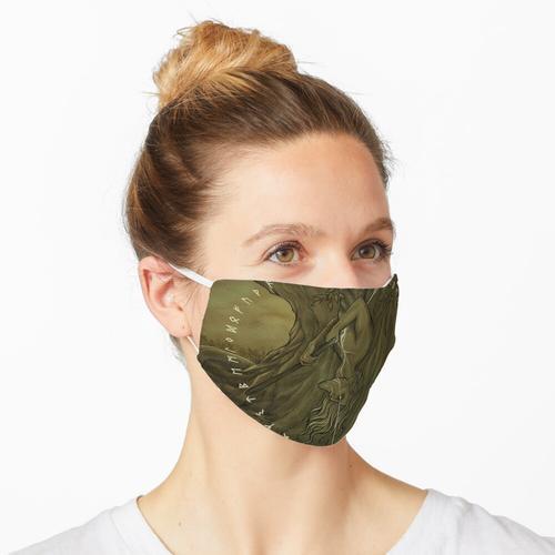 Die beleuchtete Edda Maske