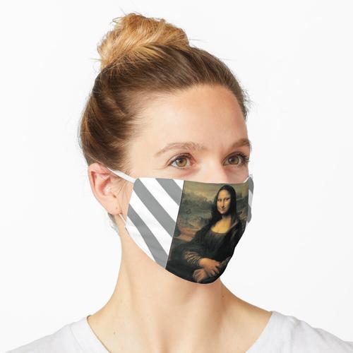 Mona Lisa Cremefarbener Stil Maske