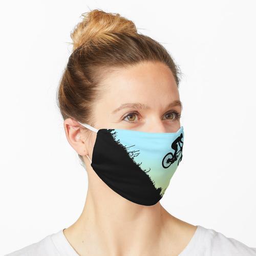 Mountainbike Extream bergab Maske
