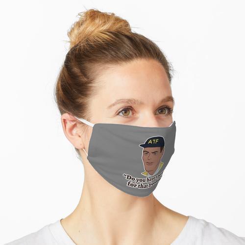 Erlaubnis für die Freiheit Maske