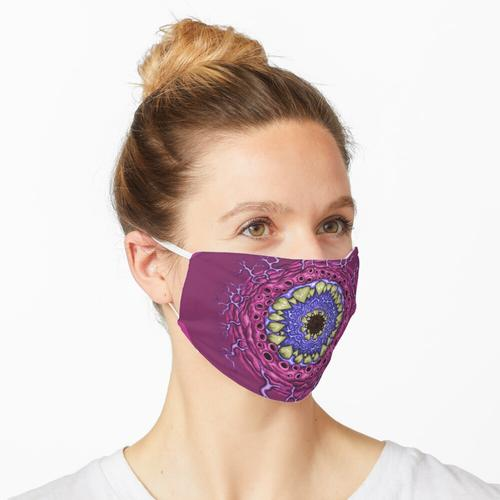 Blutegel (pink) Maske