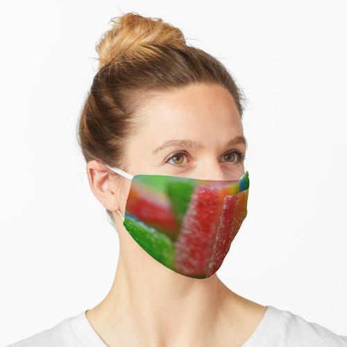 Regenbogenbonbons schmecken so lecker Maske