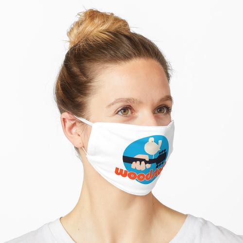 Holzlager Maske