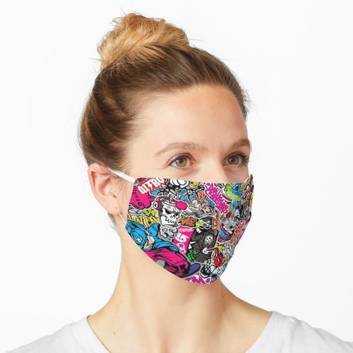 StickerBomb Maske