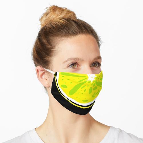 Zitrone - Zitrone Maske
