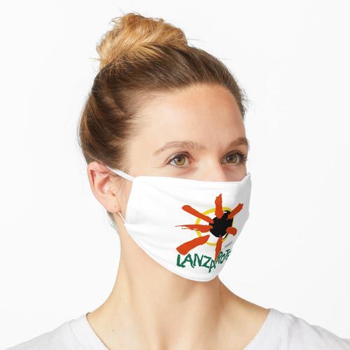 Lanzarote - Großes Logo Maske