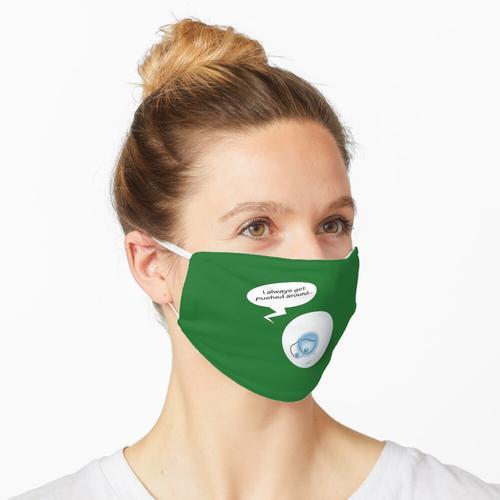 Billardkugel-Blues Maske