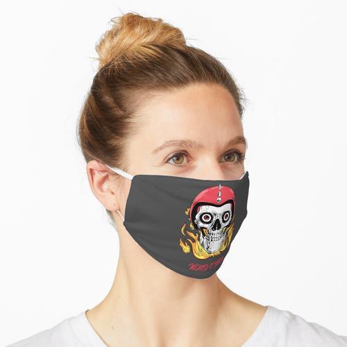 Schau es dir an Burn | Schädelhemd Maske