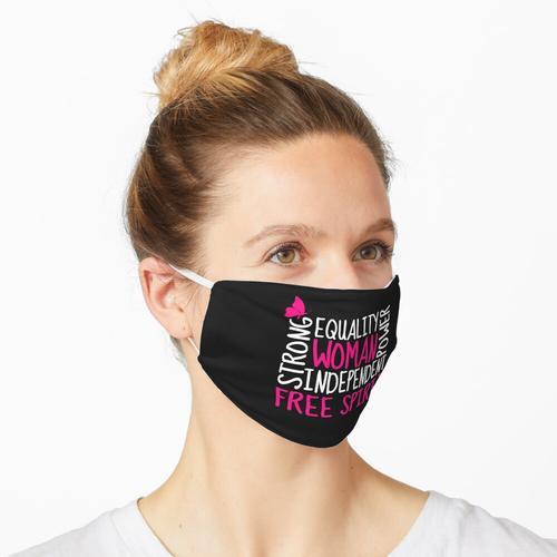 Frauenbewegung Maske