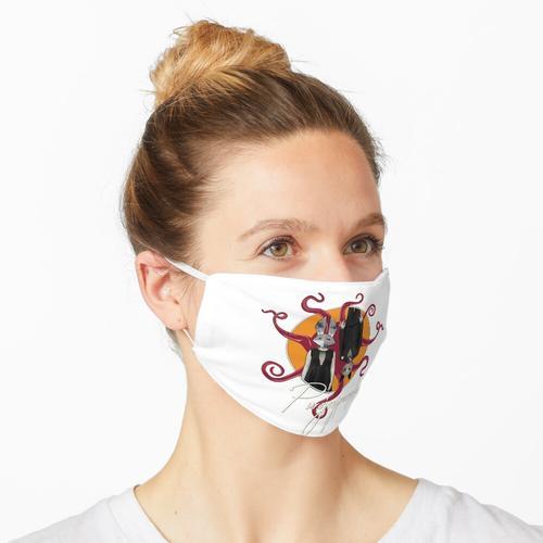 Transparenter Fels Maske