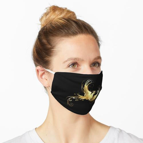 Goldener Vogel (Goldvogel) Maske