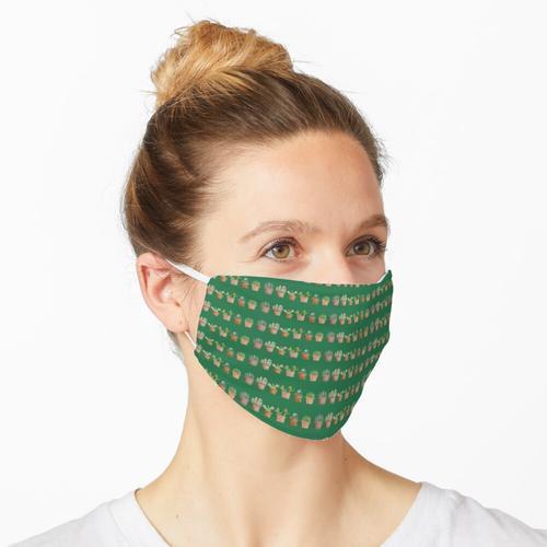 Pflanze Fensterbank Maske