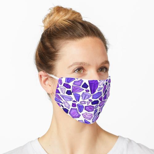 Kristalle - Muster Maske
