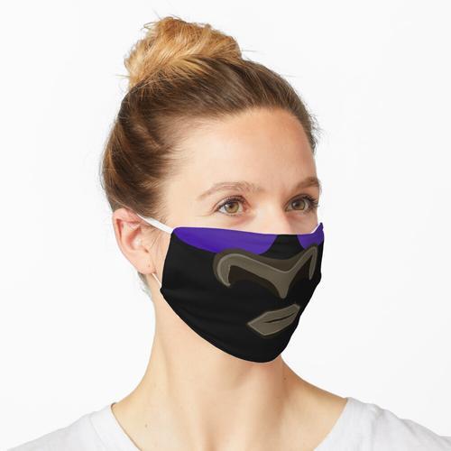 Bull Emoji Mit Brillen Design Maske