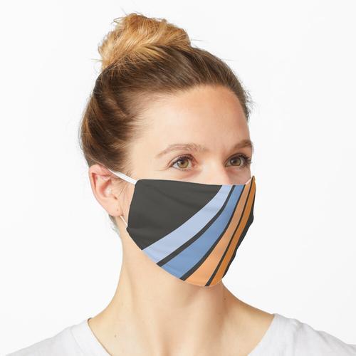 Retro Streifen Maske