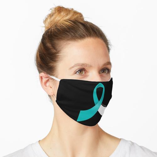 Gebärmutterhalskrebs-Bewusstseins-Band Maske