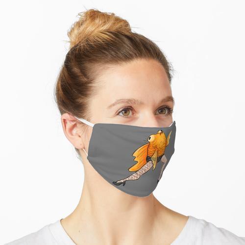 Langbeinige Fishums Maske