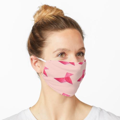 Meine Cocotte - Papier falten - pink Maske