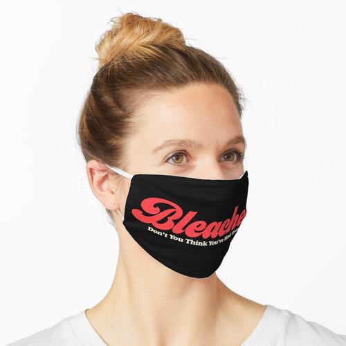 Gebleichtes Band-Logo Maske