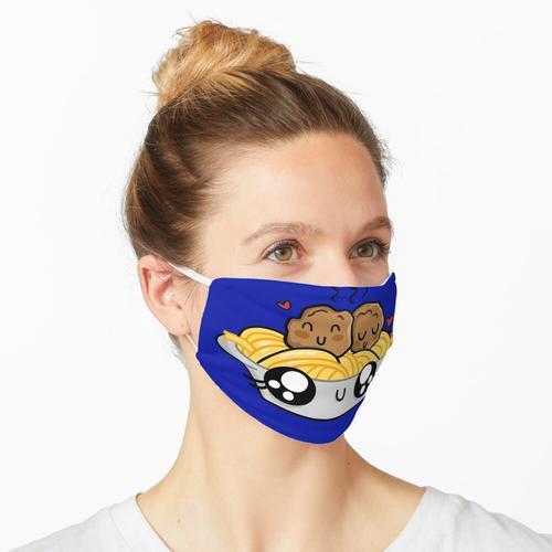 Ich liebe Spaghetti - Nudeln Maske