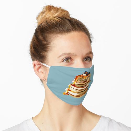 Pfannkuchenschildkröten enthalten keine Pfannkuchen Maske
