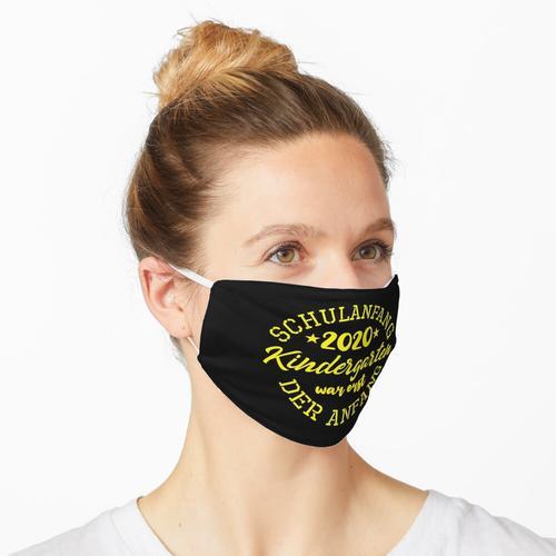 Schulanfang 2020 Maske
