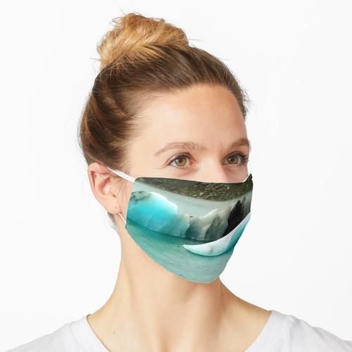 Gletscherlagune Maske