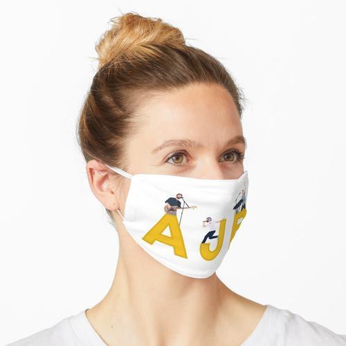 Gelber AJR Maske