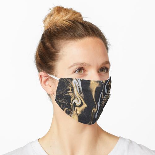 Marmor schwarz und gold Papier Struktur Maske