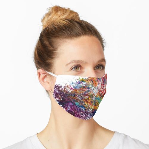 Leuchtende Reue Maske