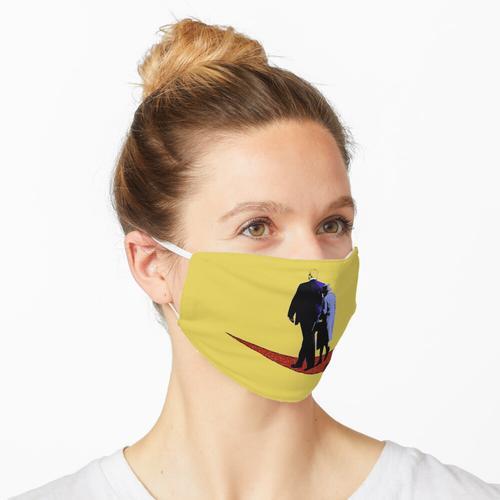 Königin des Teppichs - auf Gelb Maske