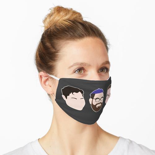 in der Reihenfolge der Erscheinung Maske