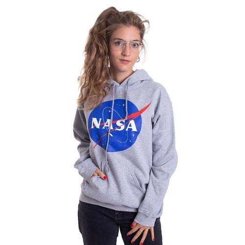 NASA - Insignia Logo Sports Grey - Hoodies