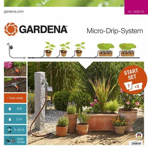 GARDENA MDS Start-Set für Pflanztöpfe M Micro-Drip-System MDS Start-Set Pflanztöpfe M mit Automatik