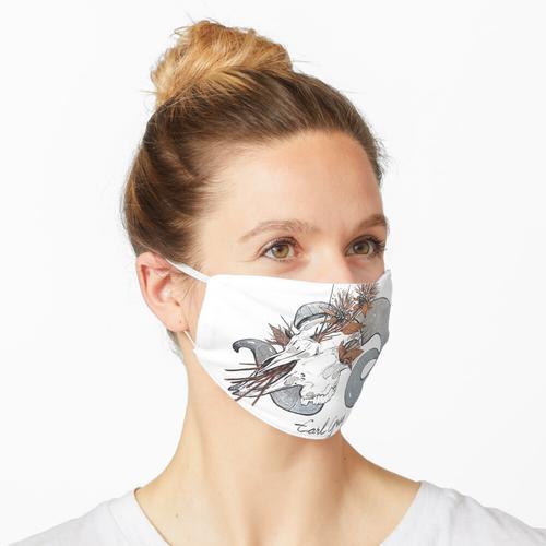MorbidiTea - Earl Grey mit Ram Skull Maske