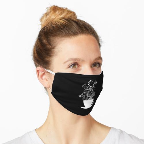 Tasse Musik (Weiß) Maske