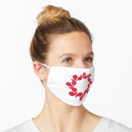 Saitama-Symbol Maske
