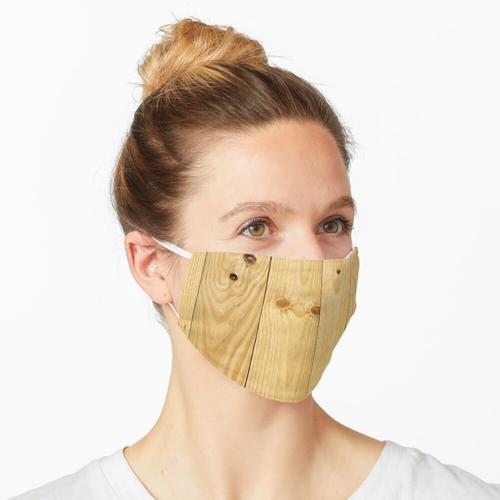 Textur aus Kiefernholz Maske