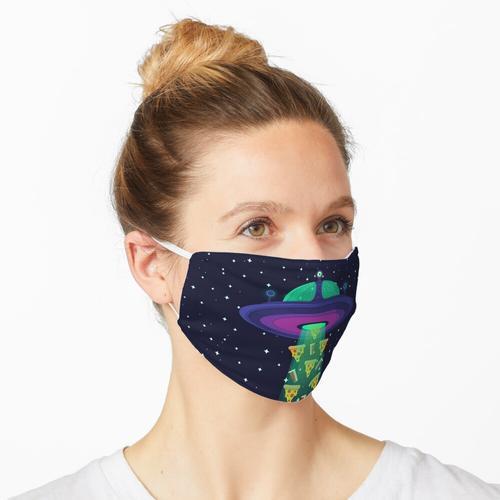 Alien Munchies Maske