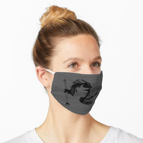 Schraubstock Maske