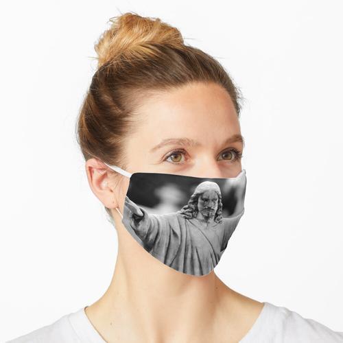 Mit offenen Armen Maske