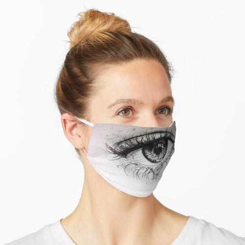 Realistisches Auge Maske