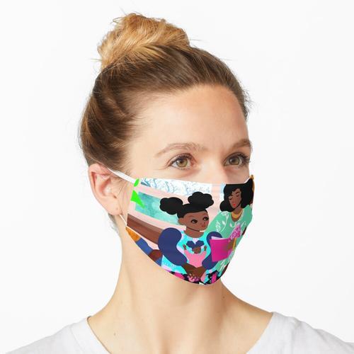 Schaukelstuhl Maske