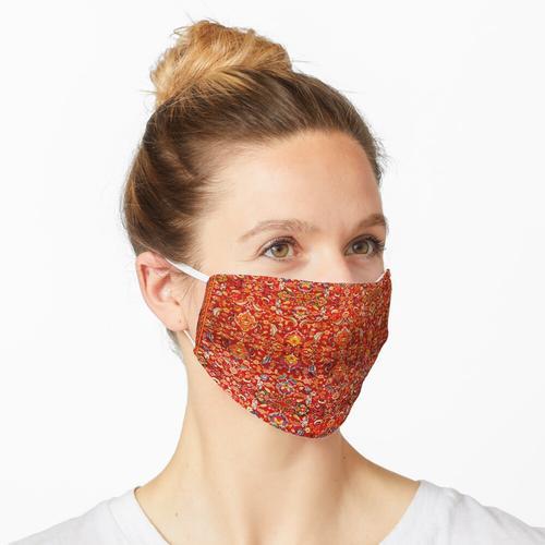 Hanbury Hall Axminster Teppichdruck Maske