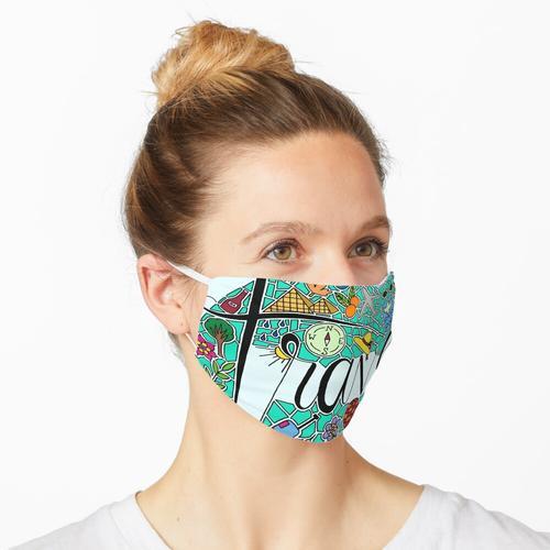 Reisen || Beschriftung || Moderne Beschriftung Maske